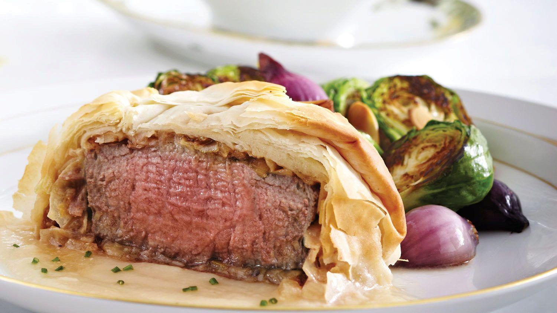 Prosciutto, Parmesan & Foie Gras Beef Wellingtons